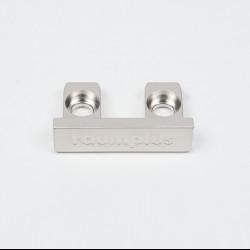 З'єднувач рамковий для складних / класичних дверей 1200, колір-срібло - Raumplus