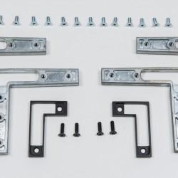 Комплект креплений RPS , цвет серебро - Raumplus