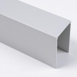 Верхня одиночна напрямна, пряма AIR S1200, колір срібло - Raumplus