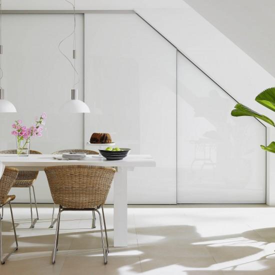 Система для мансардных дверей, S800, цвет-серебро - Raumplus
