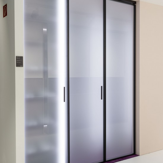 Распашные двери 1200, цвет-темная бронза - Raumplus