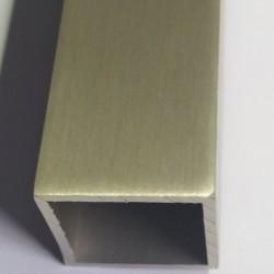 Профиль вертикальный Creo 21 мм, цвет шампань - Raumplus