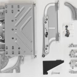 Раздвижной механизм Flua Coplanar, левый - Raumplus