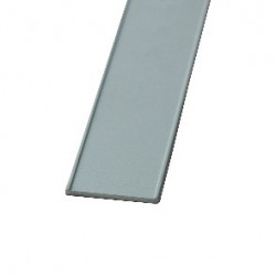 Профіль декоративний 18мм, колір-срібло - Raumplus