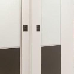 Класичні двери S800, колір-срібло - Raumplus