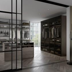 Класичні двери RPS, колір-темна бронза - Raumplus