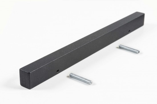 Ручка прямая 1200, цвет- черный - Raumplus