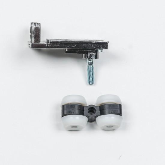 Верхній ролик для дверей, що складаються, S1200, колір чорний - Raumplus