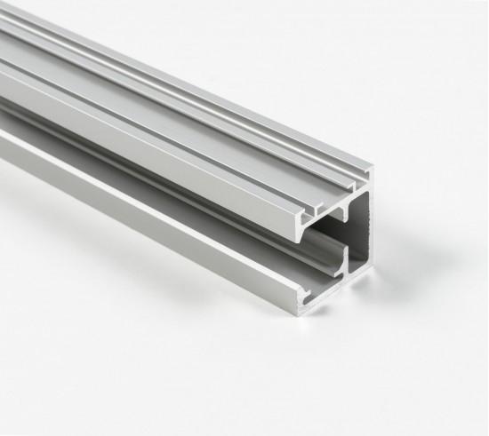 Направляющая для складных/распашных дверей 1200 серебро - Raumplus