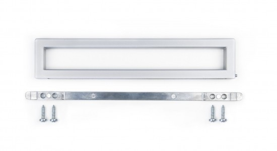 Плавающая ручка S1200, цвет- серебро - Raumplus