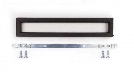 Плавающая ручка S1200, цвет- темная бронза - Raumplus