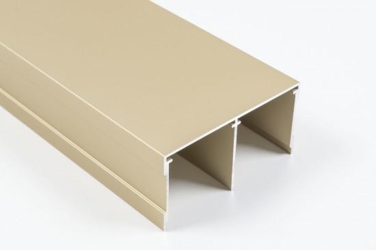 Направляющая верхняя двойная золото - Raumplus