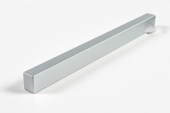 Ручка прямая 1200, цвет-серебро - Raumplus