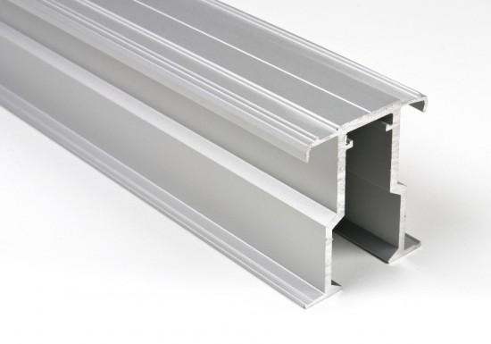 Направляющая верхняя внутренняя AIR SDB серебро - Raumplus