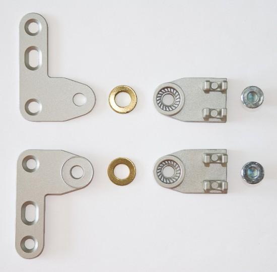 Соединение для распашной двери S800, правое - Raumplus