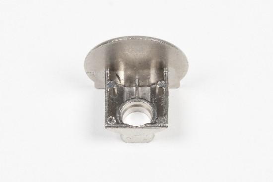 Держатель для стеклянной полки LED, серебро - Raumplus