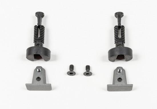Комплект креплений  боковых полок  Apperia, цвет - серебро - Raumplus