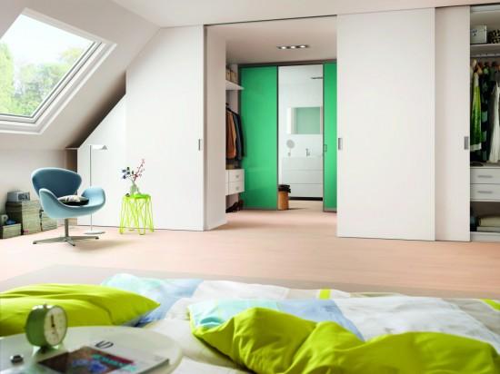 Система мансардных дверей , S деревянные двери - Raumplus