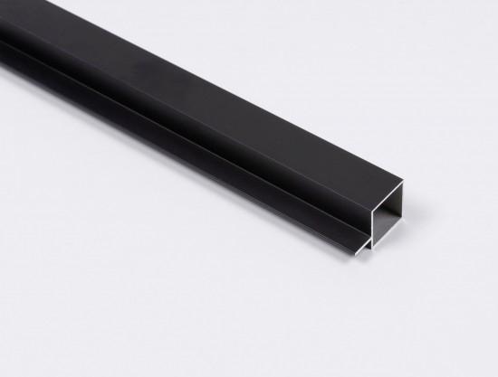 Профиль Creo для полок , цвет черный - Raumplus