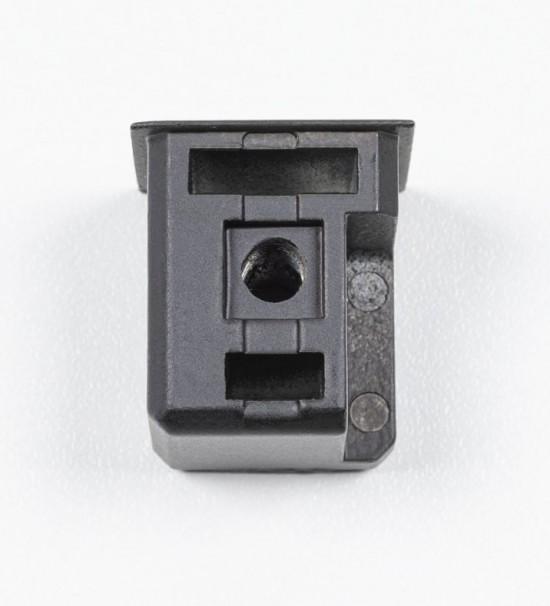 Торцевая заглушка Creo , цвет черный - Raumplus