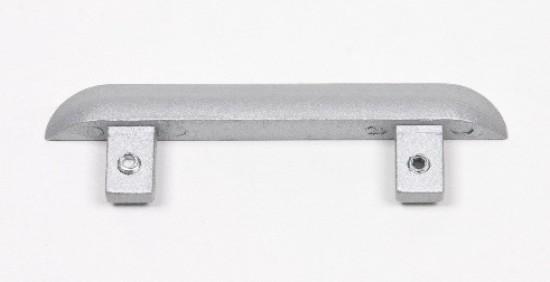 Заглушка для нижней двойной направляющей s34мм - Raumplus