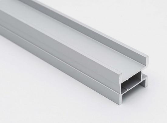 Профиль вертикальный S300 серебро - Raumplus