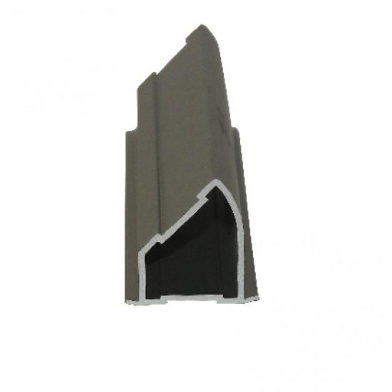 Профиль угловой серебро - Raumplus