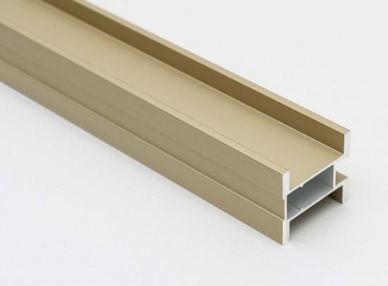 Профиль вертикальный S300 золото - Raumplus