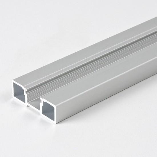 Профиль вертикальный S150 серебро - Raumplus