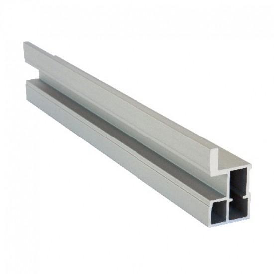 Профиль вертикальный S720 серебро - Raumplus