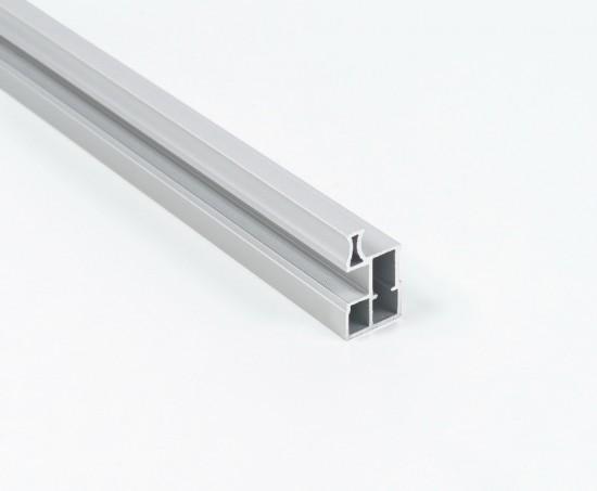 Профиль вертикальный S650 серебро - Raumplus