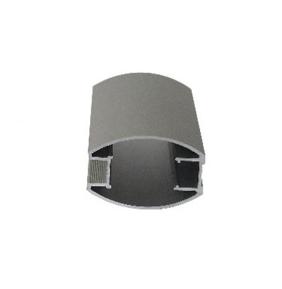 Профиль вертикальный S791 серебро - Raumplus