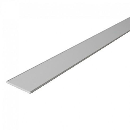Профиль декоративный 28мм, цвет-серебро - Raumplus