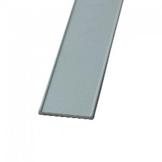 Профиль декоративный 18мм, цвет-серебро - Raumplus