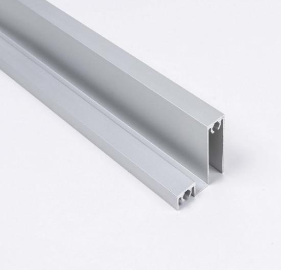 Профиль нижний 120, цвет-серебро - Raumplus