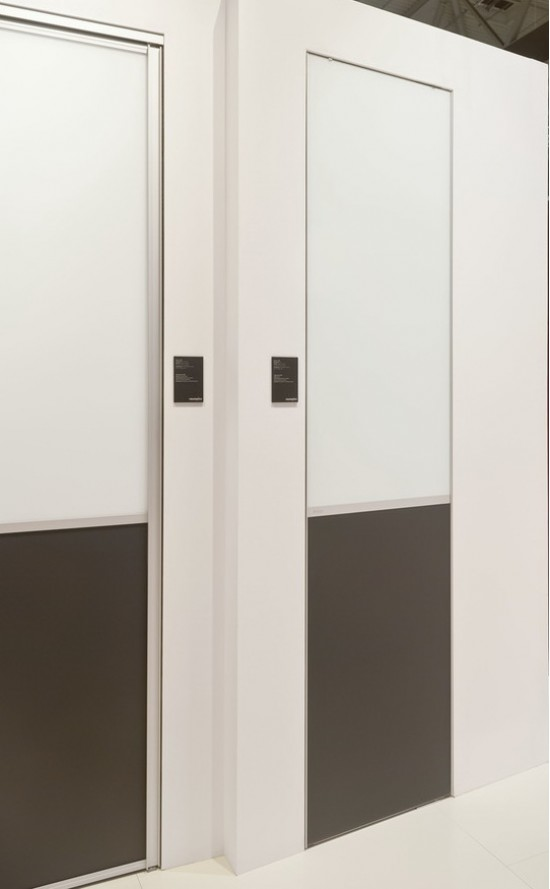 Распашные двери S800, цвет-серебро - Raumplus