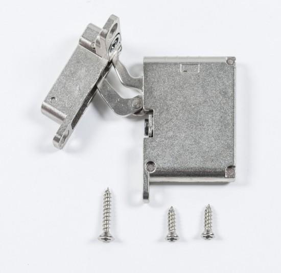 петля нижняя левая/верхняя правая /push to open , серебро - Raumplus