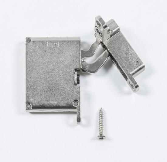 петля нижняя правая/верхняя левая /soft close, серебро - Raumplus