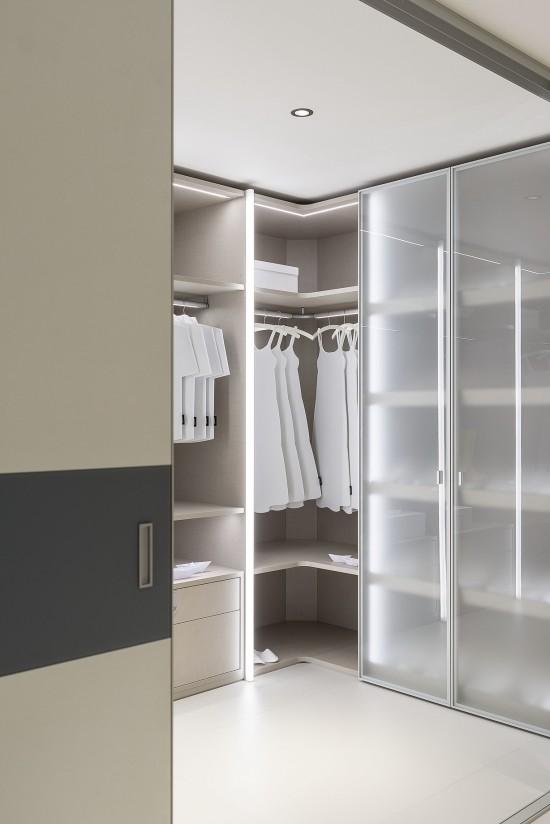 Распашные двери RPS,  цвет-серебро - Raumplus