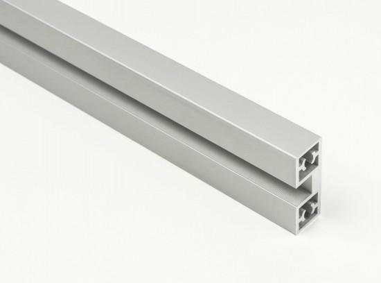 Профиль вертикальный  Swing серебро - Raumplus