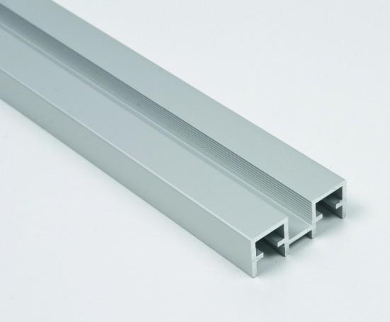 Профиль верхний/нижний Swing серебро - Raumplus