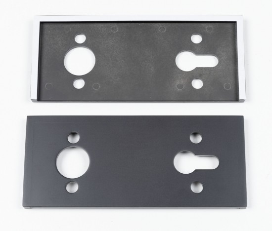 Корпус магнитного замка Swing, черный - Raumplus