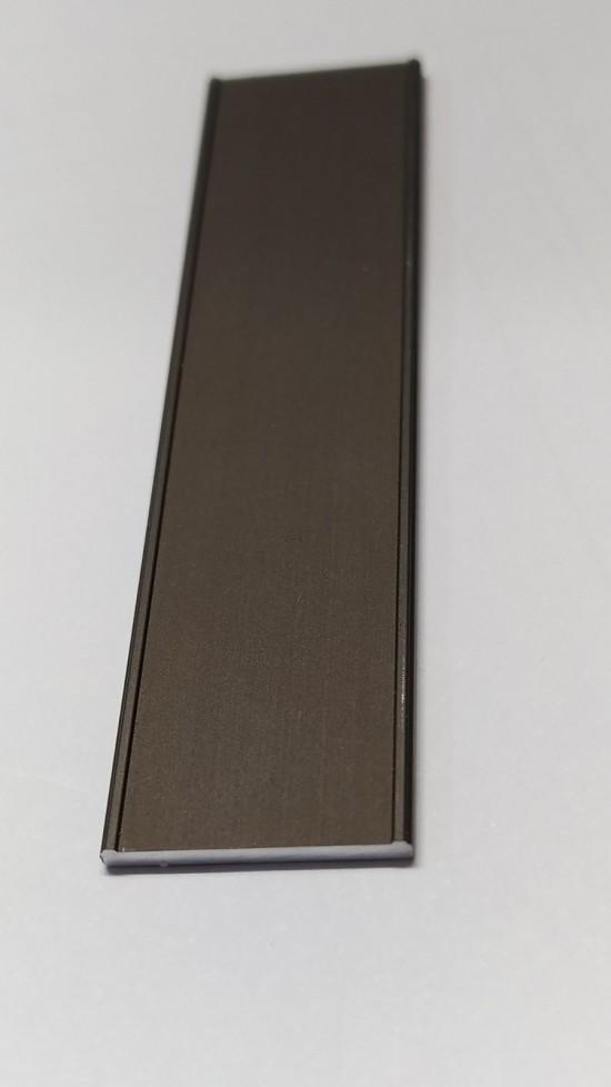 Профиль декоративный 18мм, темная бронза - Raumplus