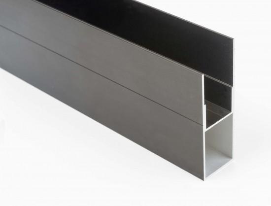 Профиль боковой для выдвижной брючницы, темная бронза - Raumplus