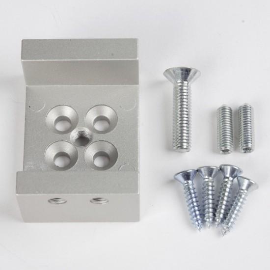 Универсальный соединитель  UNO, серебро - Raumplus