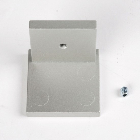 Заглушка для профиля несущего UNO, серебро - Raumplus