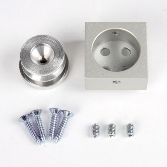 Соединитель профилей LED UNO, серебро - Raumplus
