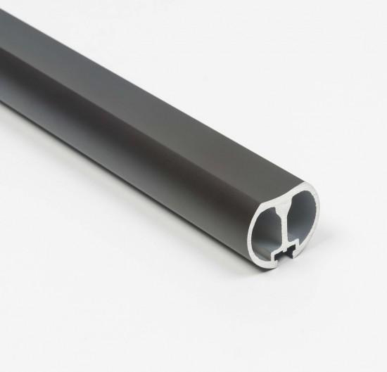 Штанга круглая UNO, цвет - черный - Raumplus