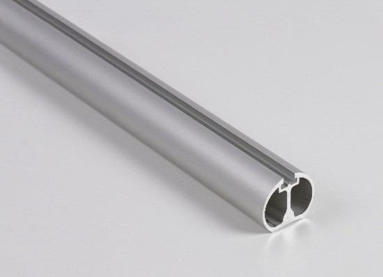 Штанга круглая UNO/Сornice, серебро - Raumplus