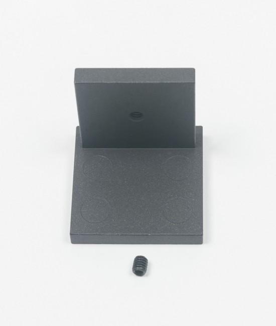 Заглушка для профиля несущего UNO, цвет-черный - Raumplus